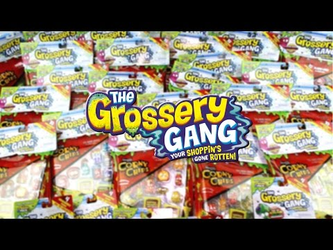 Mega Grossery Gang Season 1 Corny Chips and Sticky Soda Can Opening Hunt for a Limited Edition