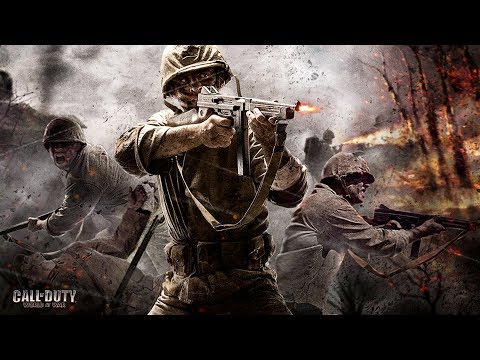Call of Duty World War 2 but with World at War Announcers (COD: WWII)