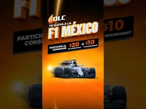 Tu puedes ser uno de los siete ganadores que irán a ver la F1 en México gracias a DLC