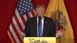 Donald Trump ribs Chris Christie over Oreos