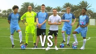 Video THE SHOOT-OUT Ft. De Bruyne, Sterling, Sané & Caballero | Chris VS Simon MP3, 3GP, MP4, WEBM, AVI, FLV Februari 2019