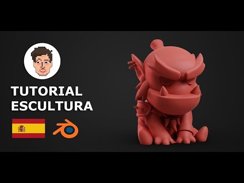 TUTORIAL - Escultura Digital En Blender Con MOUSE