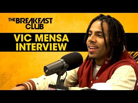 Vic Mensa Talks His Relationship With Jay-Z, His New Album & Putting His Heart Into Hip-Hop W/ The Breakfast Club