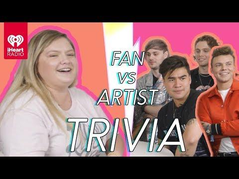 Video 5 Seconds Of Summer Challenges A Super Fan In A Trivia Battle | Fan Vs. Artist Trivia download in MP3, 3GP, MP4, WEBM, AVI, FLV January 2017