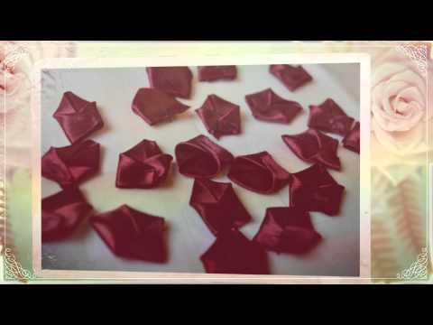 Изготовление искусственных цветов из ткани своими руками