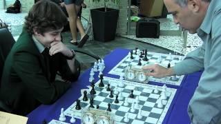 Garry Kasparov Takes On Three Players At The Same Time