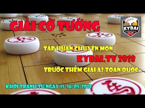Trần Quang Chiến vs Phí Mạnh Cường : Vòng TK giải cờ tướng tập huấn chuyên môn KYBAI 2018
