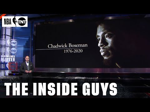 NBA on TNT Remembers Chadwick Boseman, Lute Olson, Cliff Robinson, and W. Russell Barry