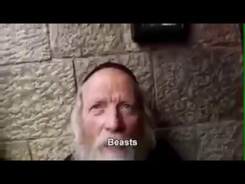 """""""i non ebrei sono nostri schiavi"""" intervista in terra santa"""