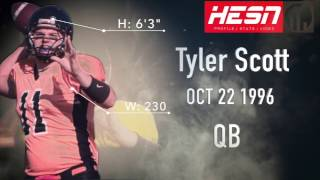 Tyler Scott (QB) Warriors Alumni - 2016 Sooners Highlights