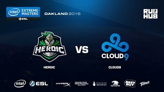 IEM Oakland - Heroic vs Cloud9 - de_mirage - [flife]