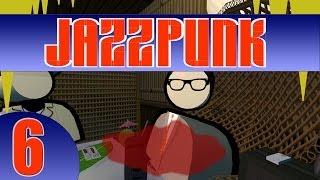 Der 6. Part des wahnwitzigen Comedy-Adventures Jazzpunk!-----------------------------------------------------------------------------►FACEBOOK: • http://www.facebook.com/KOSAFilm►TWITTER:• http://twitter.com/#!/KOSAFilmYT►OFFIZIELLE STEAM GRUPPE:• http://steamcommunity.com/groups/KOSAFilm►OFFIZIELLER FANSHOP:• http://kosafilmshop.spreadshirt.de/►GRAFISCHES GÄSTEBUCH ZUM REINMALEN:• http://www.graphicguestbook.com/kosafilm-------------------------------------------------------------------------«JAZZPUNK»Comedy-Adventure von Necrophone Games (2014).Offizielle Seite: http://necrophonegames.com/jazzpunk/«LET'S PLAY JAZZPUNK»Kommentiertes Gameplay von KOSAFilm (2014).