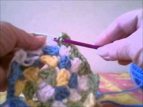 granny spirale - How to crochet a Spiral Granny Square Blanket.