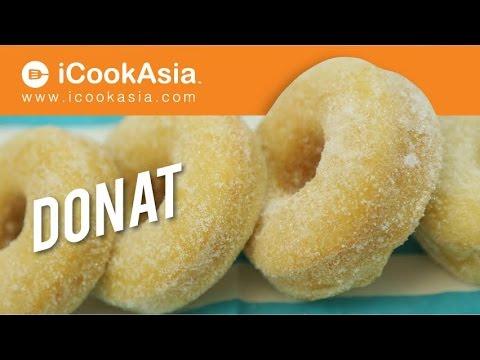 Resepi Kuih Donat | iCookAsia