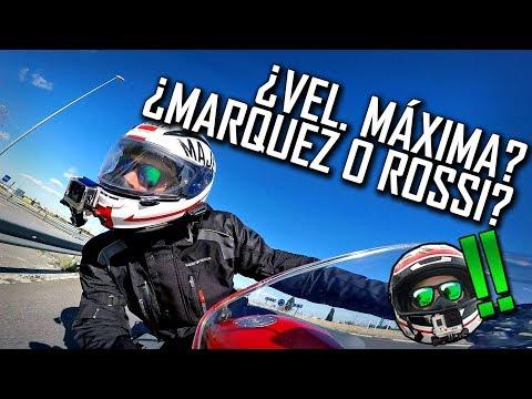 ¿Márquez o Rossi?¿Mi Velocidad máxima? Y GANADOR DE LA STRATOMOTO!