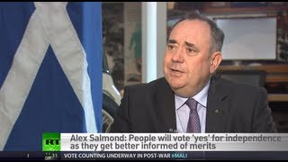 First Minister of Scotland: We will win independence referendum