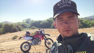 9. Baja Diaries Episode 4:  Honda XR650R Dual sport find and build project