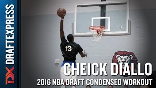 Cheick Diallo 2016 NBA Pre-Draft Workout Video (Condensed Version) by DraftExpress