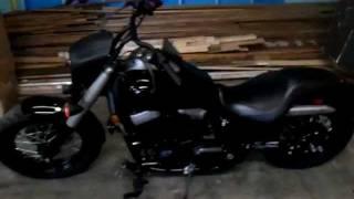 7. Honda Shadow Phantom with headlight cowl