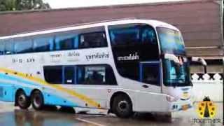 Thai Bus Bangkok And Chiangmai