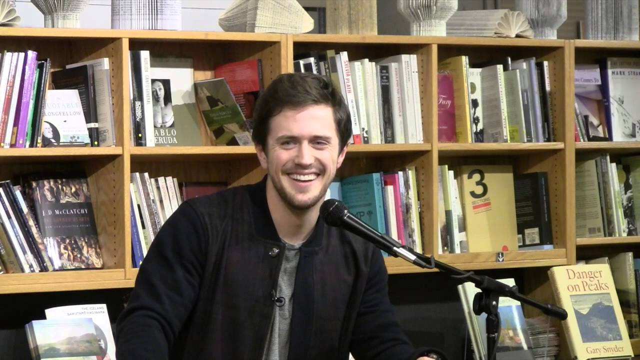 "Pierce Brown talks about ""Golden Son"""