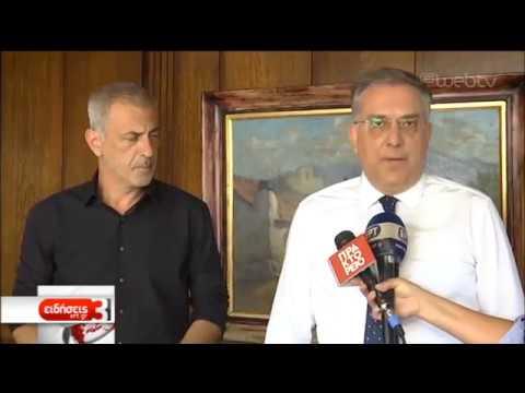 Συνάντηση του Τ. Θεοδωρικάκου με τον Γ. Μώραλη | 10/07/2019 | ΕΡΤ