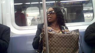 Just another ride home on nyc subway 6 train - YouTube