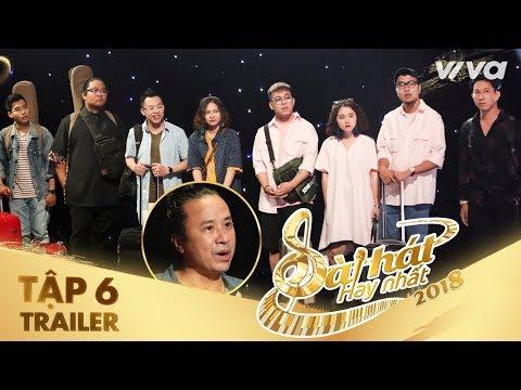 Sing My Song - Bài Hát Hay Nhất 2018 | Trailer Tập 6: team Lê Minh Sơn căng thẳng tại trại sáng tác - Thời lượng: 2:11.