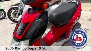 4. 2005 Kymco Super 9 50 red