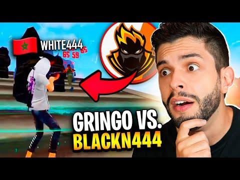 PLAYHARD REAGINDO AO X1 DO BLACKN444 VS. GRINGO!! FREE FIRE