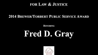 On April 10th, over 200 people turned out to celebrate the 9th Annual Albert Brewer/Bo Torbert Public Service Award presented to...