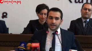 Haik Konjorian's speech as a member of Yelk/Egress dashing
