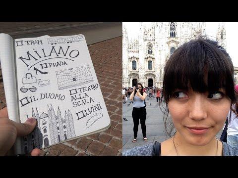 Exploring Milan, Italy