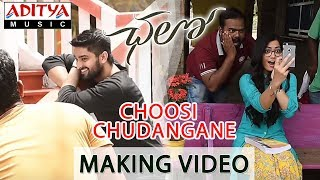 Choosi Chudangane Making Video || Chalo Movie || Naga Shaurya, Rashmika