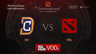 DC vs FDL, game 1