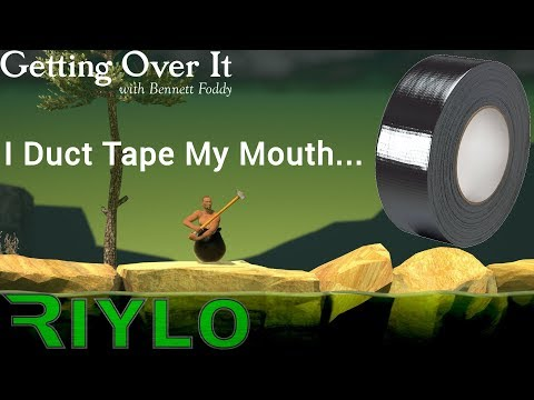 Getting Over It - PC - I Duct Tape My Mouth For Rage Block. Maybe.
