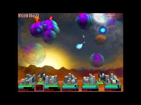 Video of Missile Barrage