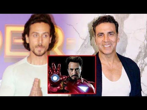 Video Tiger Shroff says Akshay Kumar can become Iron Man download in MP3, 3GP, MP4, WEBM, AVI, FLV January 2017