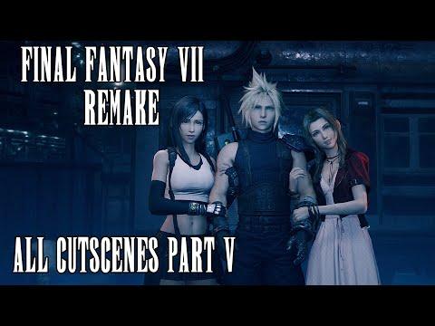 All Cutscenes in 4K - Part 5/10   Final Fantasy 7 Remake   HEAVY SPOILERS