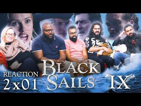 Black Sails - 2x1 IX - Group Reaction