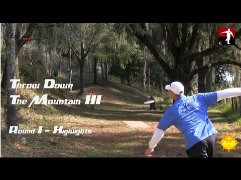The Disc Golf Guy – Vlog #259 – TDTMIII Rnd 1 Highlights – Climo, Pierce, Sexton ..