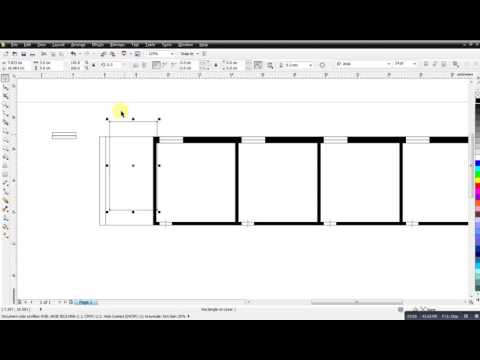 How To Make A Building Project With CorelDraw X5