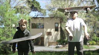 #SkateJaus - Los hermanos Damico, el skate en la sangre