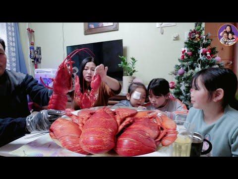 Vlog 164    Ăn Tôm Hùm Chiều Thứ Sáu    Gia Đình Việt Hàn - Thời lượng: 28:52.