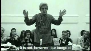 Conférence de Lacan en 1972