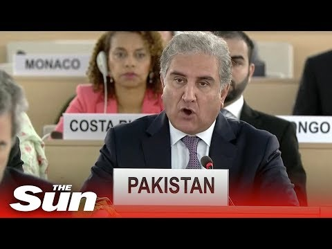 Pakistan on the Kashmir dispute with India at UN Human Rights Council