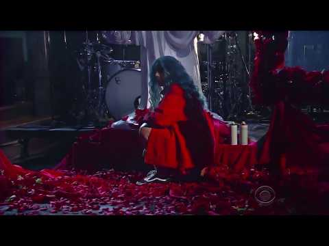 Halsey - Now Or Never + Eyes Closed (Live at The Late Show 2017)