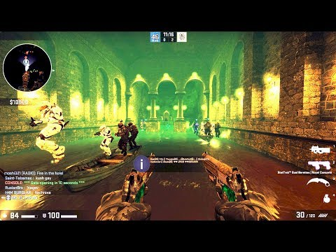 CSGO - Zombie Escape Mod Gameplay on Journey_p4 map (видео)