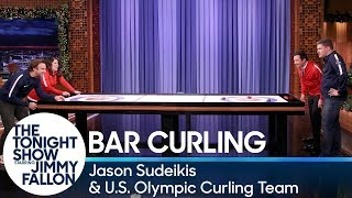 Video Bar Curling with Jason Sudeikis and the U.S. Olympic Curling Team MP3, 3GP, MP4, WEBM, AVI, FLV Desember 2018