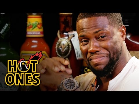 Hot Ones - Kevin Hart Catches a High Eating Spicy Wings
